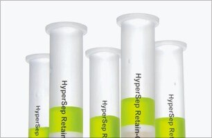 bottles of chemical solvents